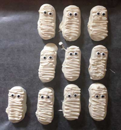 Halloween Ghost Cookies Tall