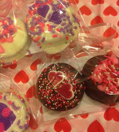 Valentine Oreo Cookies