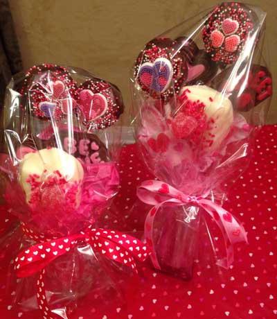 Valentine Sucker Bouquet